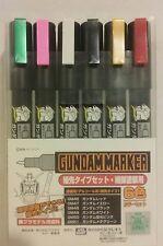 Gunze Sangyo / Gundammarker GMS 110, Ultra Fine Paint marker set.