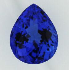 Pear Transparent Loose Natural Sapphires