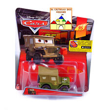 CARS Personaggio SERGENTE SQUADRA CORSE in Metallo scala 1:55 by Mattel Disney