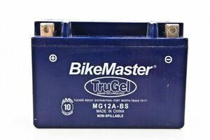 BikeMaster TruGel Battery  MG12A-BS