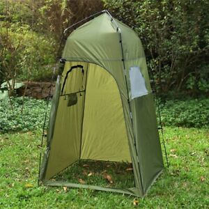 Portable Outdoor Shower Tent Camping Beach Toilet Waterproof Changing Room NEW