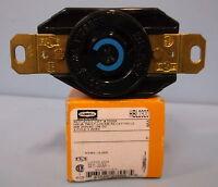 HUBBELL HBL23200 REPLACES 2320A HBL TWIST LOCK RECEPTACLE NIB