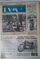 b)LVM - La Vie de la Moto n°126; 1/11/1993; CCM 350/ Z 46 C/ Jules Rolland