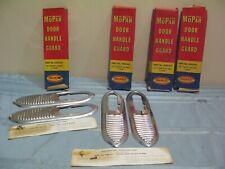 SET OF VINTAGE NOS MOPAR 1953 PLYMOUTH & DODGE DOOR HANDLE GUARDS TRIM #1450 441