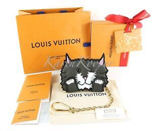 AUTH LOUIS VUITTON EPI GRACE CODDINGTON CATOGRAM GREY CAT CARD HOLDER WALLET