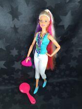 Barbie Hybrid OOAK Rainbow Hair Made To Move