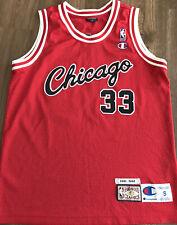 Scottie Pippen Trikot, NBA Trikot, Jersey, Basketballtrikot, NBA Authentic,
