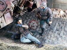 Verlinden VP 1791 1/35 2 deutsche Waffen SS Soldaten im Angriff