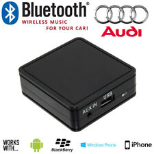 Audi Bluetooth Aux In Car Music Interface Adaptor w/ USB Charging