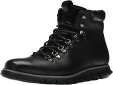 New in Box - $300 COLE HAAN ZeroGrand Black Hiker II Leather Boots Size 8
