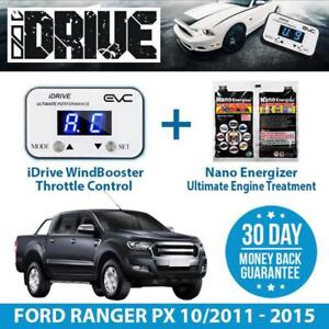 IDRIVE THROTTLE CONTROL FOR  FORD RANGER PX 10/2011-2015 + NANO ENERGIZER AIO