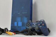 PlayStation2 Ocean Blue Console clear SCPH-37000 PS2 Controller NTSC-J Japan JP