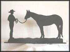 HALTER HORSE Western Metal Art Silhouettes!!