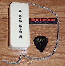 Gibson Les Paul Pickup P-90 Soapbar Creme Neck Guitar Parts Quick Connect SG HP