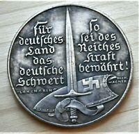 WW2 GERMAN COMMEMORATIVE COLLECTORS COIN 1938 K. GOETZ