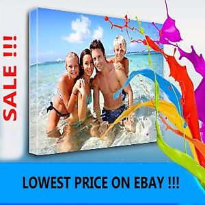 YOUR PICTURE PERSONALISED ON TO CANVAS BOX !!  MANY FRAMES TOP QUALITY ! MATAGA