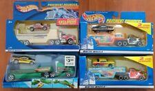 Hot Wheels Pavement Pounder/Truckin Transporter Lot, '55/57 Chevys/Nomadder What