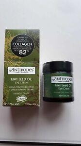 Antipodes Eye Cream Kiwi Seed Oil 30ml Organic BNIB RRP £31.99 From New Zealand