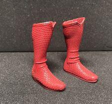Hot toys MMS200 Man of Steel Superman Henry Cavill 1/6 Superman boots