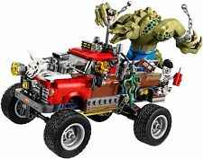 The Lego Batman Movie Killer Croc: Tail-Gator 70907 - No Minifigs or Batski