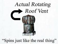 Rotating Rooftop Vent.Rotating Building Vent in our Ho Scale animated series
