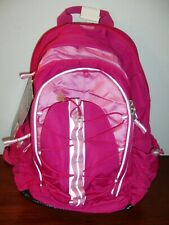 "Ultimate Backpack Pink Reflective Expands +2"" Safety Whistle Audio Pencil Case"