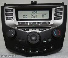 03 04 05 06 HONDA Accord Radio Stereo CD Player 2AC2 Manual Temp Climate Control