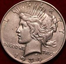 1934-D Denver Mint Silver Peace Dollar