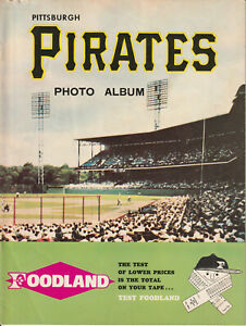 1969 FOODLAND PITTSBURGH PIRATES PHOTO ALBUM CLEMENTE MAZ STARGELL +BONUS MAG