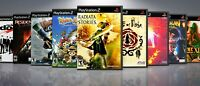 Replacement PlayStation 2 PS2 Titles R Covers and Cases. NO GAMES!