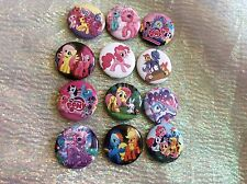 12 MY LITTLE PONY  BADGES Party Bag Fillers
