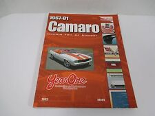 2003 Year One Inc 1967-81 Camero Retail Catalog Restoration Parts & Accesorties
