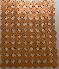 1920~2012 - CANADA - 98 x 1¢ Pennies - No Duplicates Many Varieties