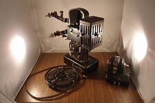 1920s Rare Pathe Baby 9.5mm silent projector camera with old film comedy old car