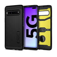 Galaxy S10 5G | Spigen® [Tough Armor] Hybrid Protective Shockproof Case Cover
