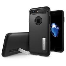 Express iPhone 8 Plus Case Spigen Slim Armor Cover for Apple Black