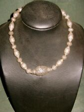 COLLIER NEKLACE AFGHANISTAN PERLES ARGENT SILVER BEADS