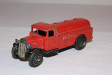 1940's Dinky #25d Petrol Tank Truck, Petrol White Letters, Original