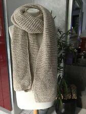 Femmes Unisexe 100/% cashmere Big Tartan Stripe Plaid Laine Rose Bébé wrap écharpe