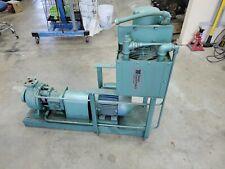 Peerless Pump 8196 3x4x95 316ss 3 Hp 3450 Rpm Weg W21 Cc029a Motor Dayton Coole