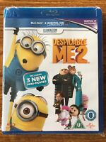 Despicable Me 2 (Blu-ray, 2013) Brand New Sealed