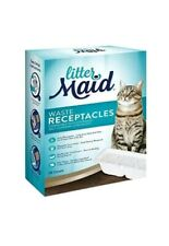 LitterMaid Waste Receptacles, Disposable/Sealable Receptacles 18-count