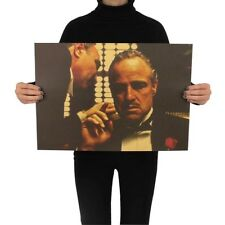 Der Pate The Godfather Marlon Brando Vito Corleone Poster Vintage Film Wandbild