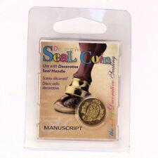 Manuscript Decorative Wax Sealing 18mm Coin Seal - Initial Q