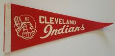 Vintage Cleveland Indians Mini Felt Colligian Pennant