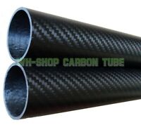 3K carbon Fiber wrap tube OD 50mm ID 47mm diameter x 1000mm rc plane wing tube