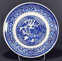 """Vintage Blue Willow  7 1/4"""" Bread Plate"""