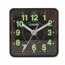 Casio TQ140-1D Travel Desk Quartz Alarm Clock Neobrite Resin Case Small Portable