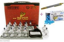 Medical 19Cups +1Bleeding Pen + 1Needle Box Massage Cupping, Hijama HS-11 Hansol