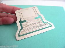 Tiffany & Co Silver Computer Book Mark Rare Gift Tech It MacBook Pc Lover